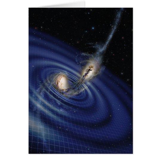 Tarjeta de las ondas gravitacionales