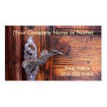 Tarjeta de las propiedades inmobiliarias/del perfi tarjeta de visita