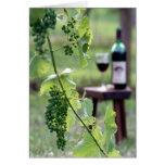 Tarjeta de las uvas de Kentucky