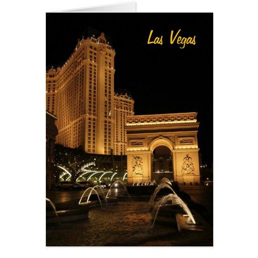 Tarjeta de Las Vegas