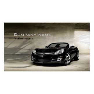 Tarjeta de las ventas autos y de la empresa de ser tarjetas de visita