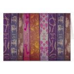 Tarjeta de libros de Jane Austen