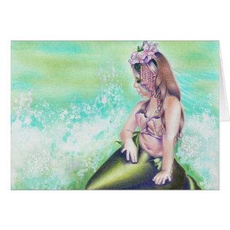 Tarjeta de little mermaid