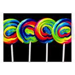 Tarjeta de Lollypop