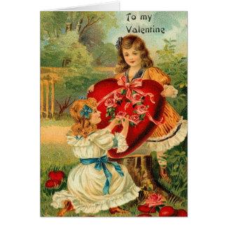 Tarjeta de los amigos de la tarjeta del día de San