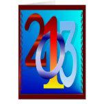 tarjeta de los Años Nuevos 2013-Happy