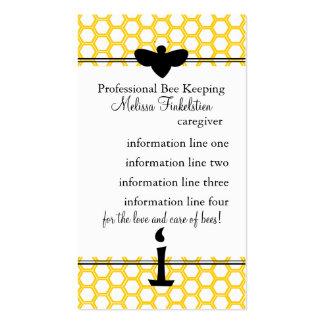 Tarjeta de los apicultores plantillas de tarjeta de negocio