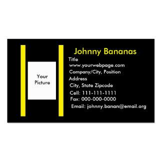 Tarjeta de los asuntos divertidos plantilla de tarjeta de visita
