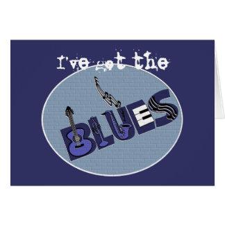 Tarjeta de los azules