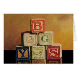 Tarjeta de los bloques