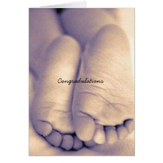 tarjeta de los congradulations