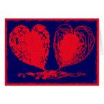 Tarjeta de los corazones