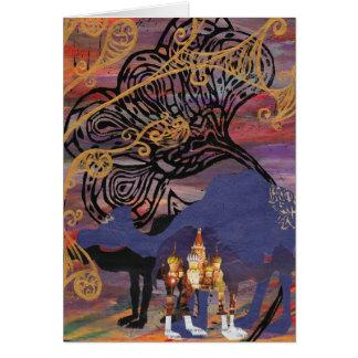 Tarjeta de los mundos del camello