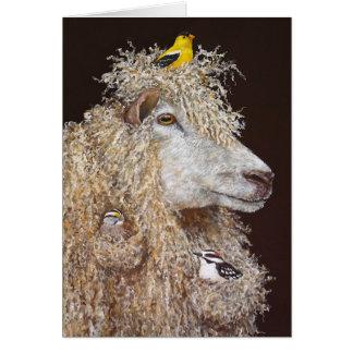 Tarjeta de los Nesters de las lanas