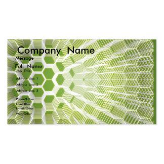 Tarjeta de los objetos artificiales plantillas de tarjetas de visita
