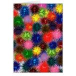 Tarjeta de los Paintballs del fractal