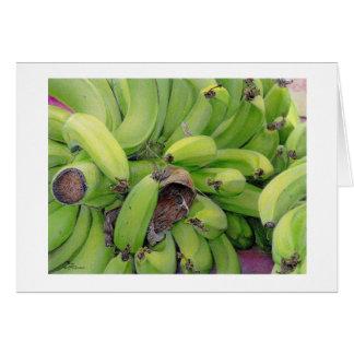 """Tarjeta de los """"plátanos"""" de Paul McGehee"""