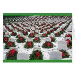 Tarjeta de los sepulcros del navidad