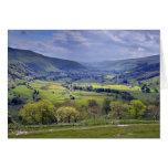 Tarjeta de los valles de Yorkshire - añada su prop