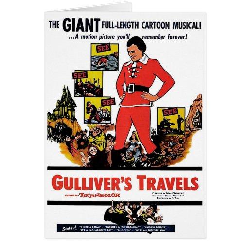 """Tarjeta de los viajes de Gulliver"""