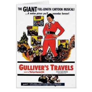"""""""Tarjeta de los viajes de Gulliver"""" Tarjeta De Felicitación"""