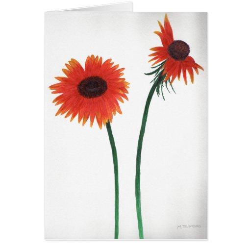 Tarjeta de los Wildflowers