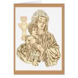 Tarjeta de Madonna del Celtic
