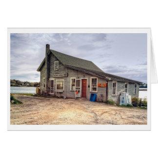 Tarjeta de Maine del puerto de Cundy