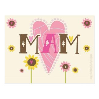 Tarjeta de Mam Postales