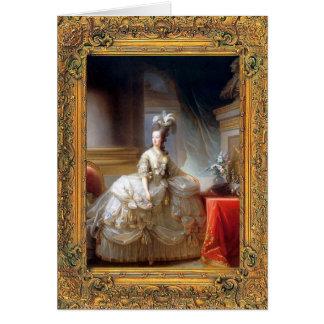 Tarjeta de Marie Antonieta