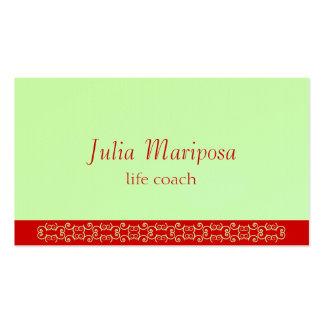 Tarjeta de Mariposa II Tarjetas De Visita