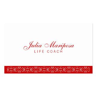 Tarjeta de Mariposa Tarjetas De Visita