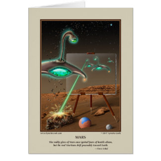 Tarjeta de Marte