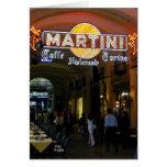 Tarjeta de Martini Caffe