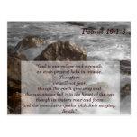 Tarjeta de memoria de la escritura 1-3 del salmo 4 postal
