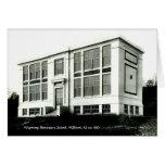 Tarjeta de Millburn NJ c 1910 de la escuela primar