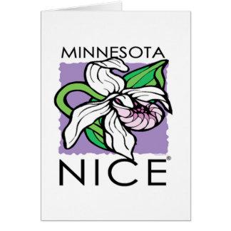 Tarjeta de Minnesota Nice® Ladyslpper
