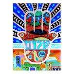 Tarjeta de Mitzvah RSVP del palo de la barra Tarjetas De Visita