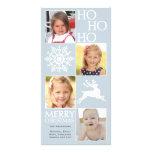 Tarjeta de moda de la foto del navidad tarjetas fotograficas personalizadas