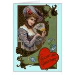 Tarjeta de moda del el día de San Valentín del Vic