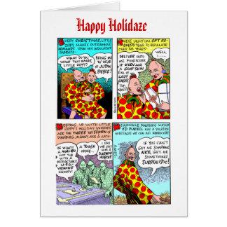 Tarjeta de Navidad 2011 enérgica