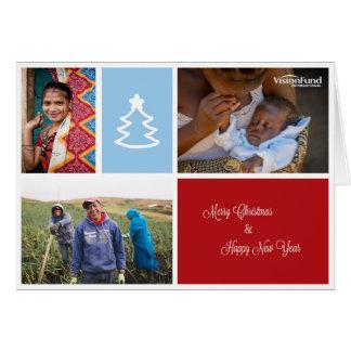 Tarjeta de Navidad 2014 de VisionFund