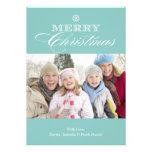 tarjeta de Navidad 5 x 7 de las Felices Navidad el