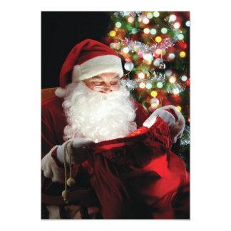 """tarjeta de Navidad 5x7 Invitación 5"""" X 7"""""""