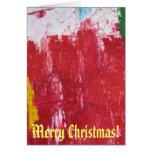 ¡Tarjeta de Navidad abstracta!