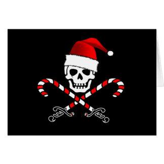 Tarjeta de Navidad alegre de Rogelio Santa del