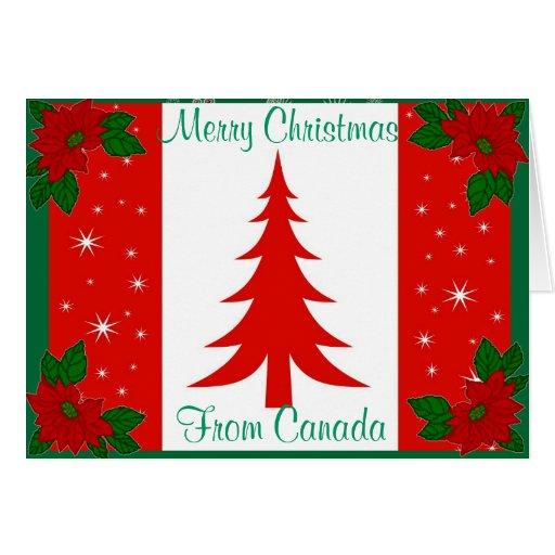 Tarjeta de Navidad canadiense