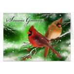 Tarjeta de Navidad (cardinal)