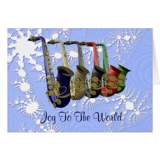Tarjeta de Navidad colorida de las escamas de la