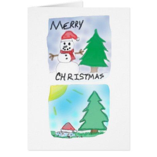 Tarjeta de Navidad: D